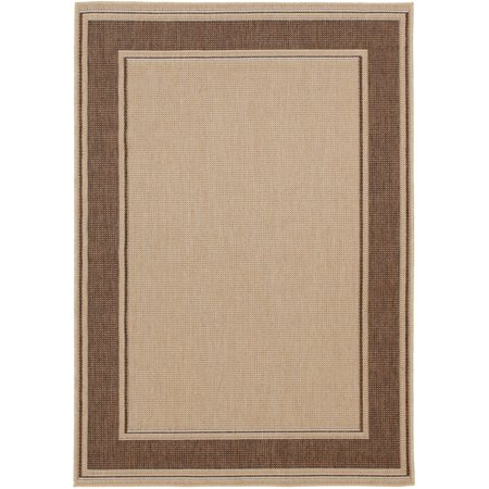 Mainstays Indoor/Outdoor Framed Border Area Rug, Multiple Sizes ()