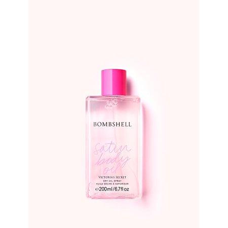 Victoria's Secret Bombshell Satin Body Oil Dry Oil Spray 200