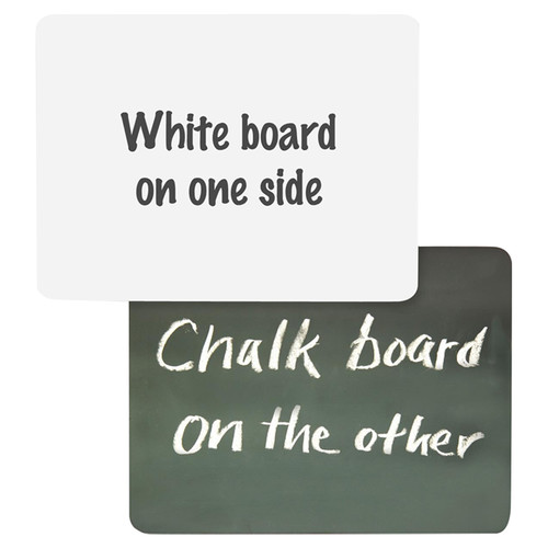 Chenille Kraft Company Combination Lap Board Whiteboard, 1' H x 1' W