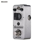 MOOER Loop Drum Machine & Looper Pedal 3 Modes Max. 20min Recording Time Tap Tempo True Bypass Full Metal Shell