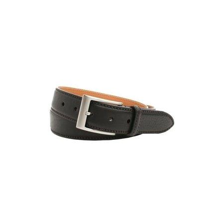 Trafalgar Brandon Big & Tall Italian Calfskin Leather Belt in (Allen Edmonds Calfskin Belt)