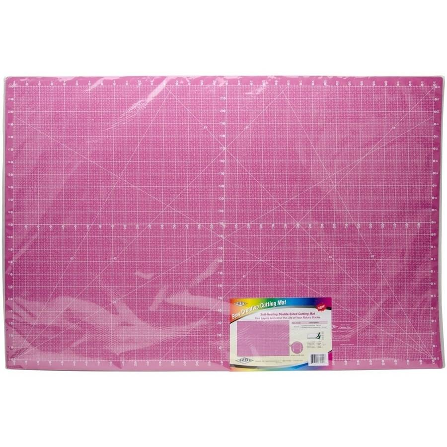 """Double-Sided Rotary Cutting Mat, 34"""" x 22"""""""