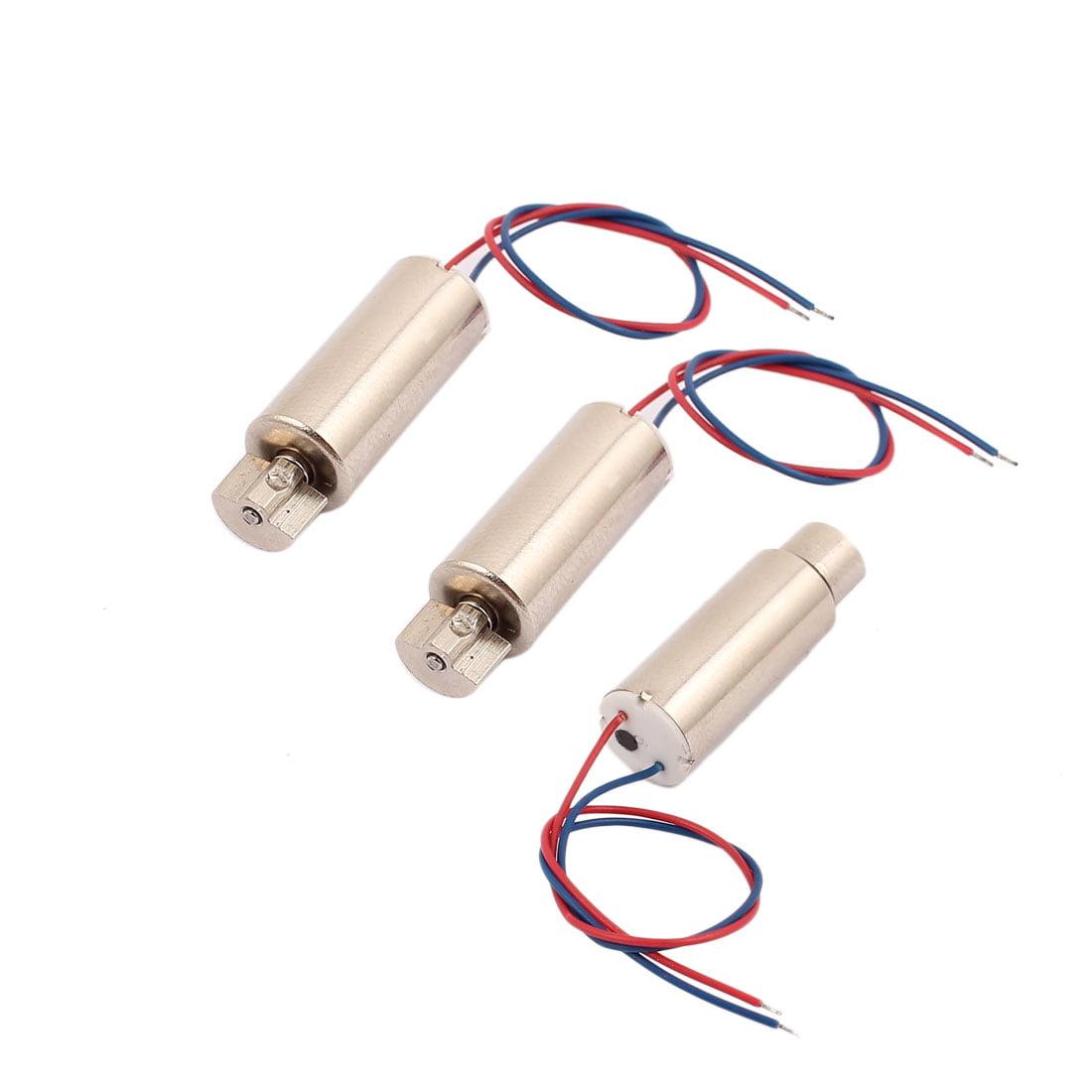 3Pcs DC 1.5V-4.5V 50000RPM High Speed Vibration Motor Magnetic Coreless Motor