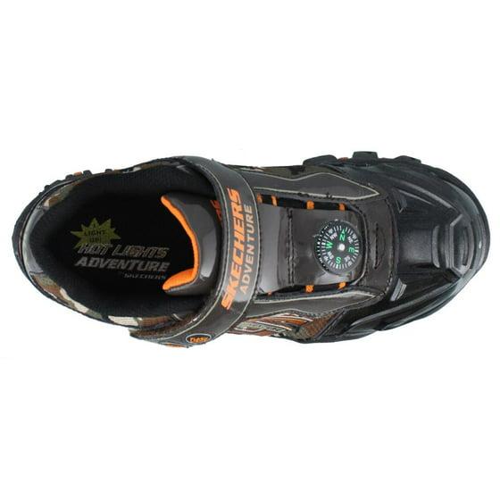 205f890a3ad4 ... SKECHERS Hot Lights Damager II - Adventurer shoe. Shiny patent leather