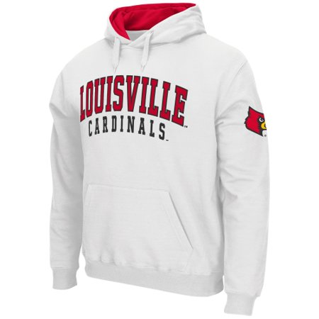 Louisville Cardinals Stadium Athletic Double Arches Pullover Hoodie - White