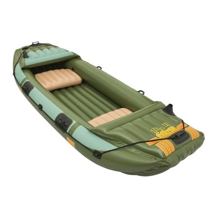 Bestway Hydro Force Neva III Heavy Duty Inflatable 3 Person Water Raft,
