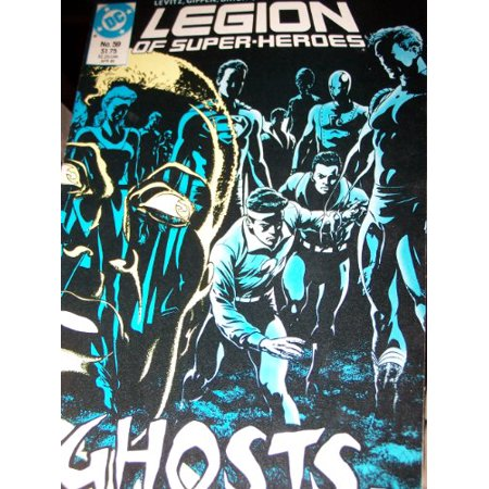 Legion of Super-Heroes #59, Ghosts in the Clubhouse, Comic Book For Collectors 2000 Collectors Club