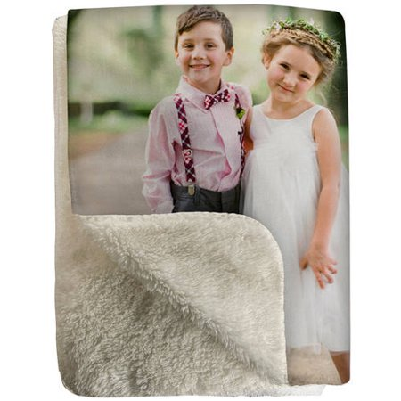 50X60 Sherpa Fleece Photo Blanket