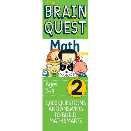 Brain Quest Grade 2 Math (Grade 2 Halloween Math Worksheets)