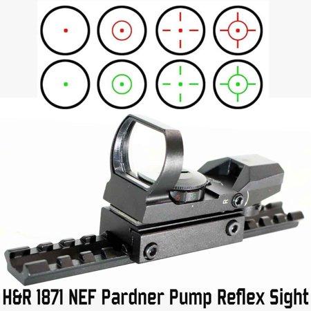 H&R1871 NEF Pardner Pump accessories sight 4 reticles with mount 12 Gauge Shotgun., H&R 1871