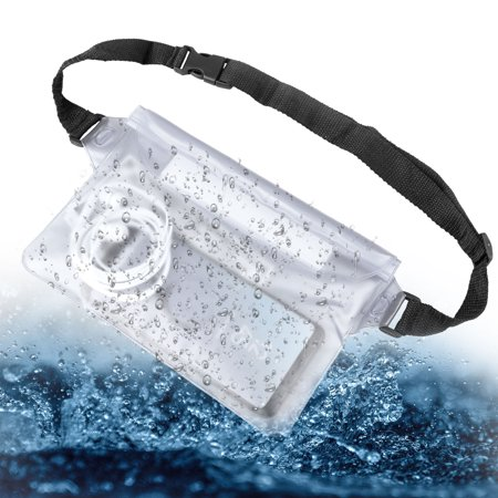 EEEKit Screen Touchable Adjustable Phone Pouch Dry Bag Case with Waist Strap for Boating Swimming Snorkeling Fishing Sailing Beach, Keep Phone and Valuables Safe and