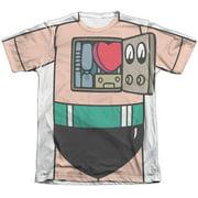 Astro Boy Costume (Front Back Print) Mens Sublimation Shirt