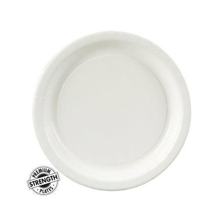 Dessert Plate - White (24 Count)
