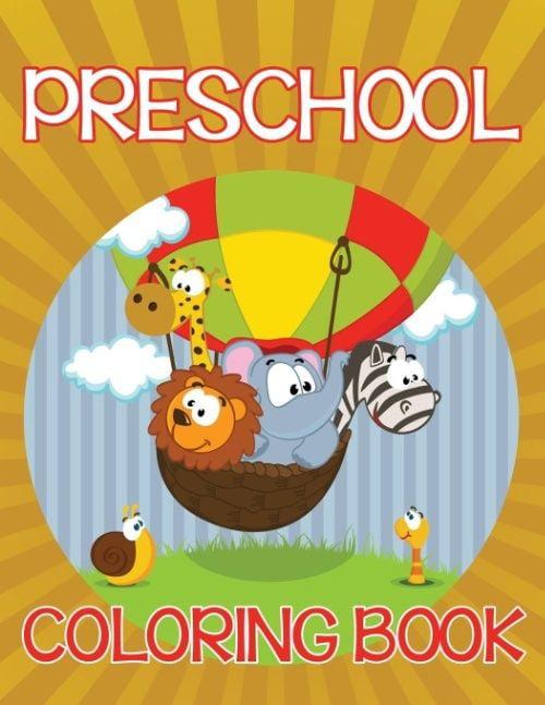 Preschool Coloring Book by Speedy Kids