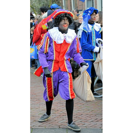 Canvas Print Parade Festivity Holland Tradition Kids Party Stretched Canvas 32 x 24 - Holland Halloween Traditions
