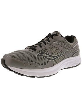 Saucony Men's Grid Cohesion 11 Silver / Orange Ankle-High Mesh Running Shoe - 10.5M