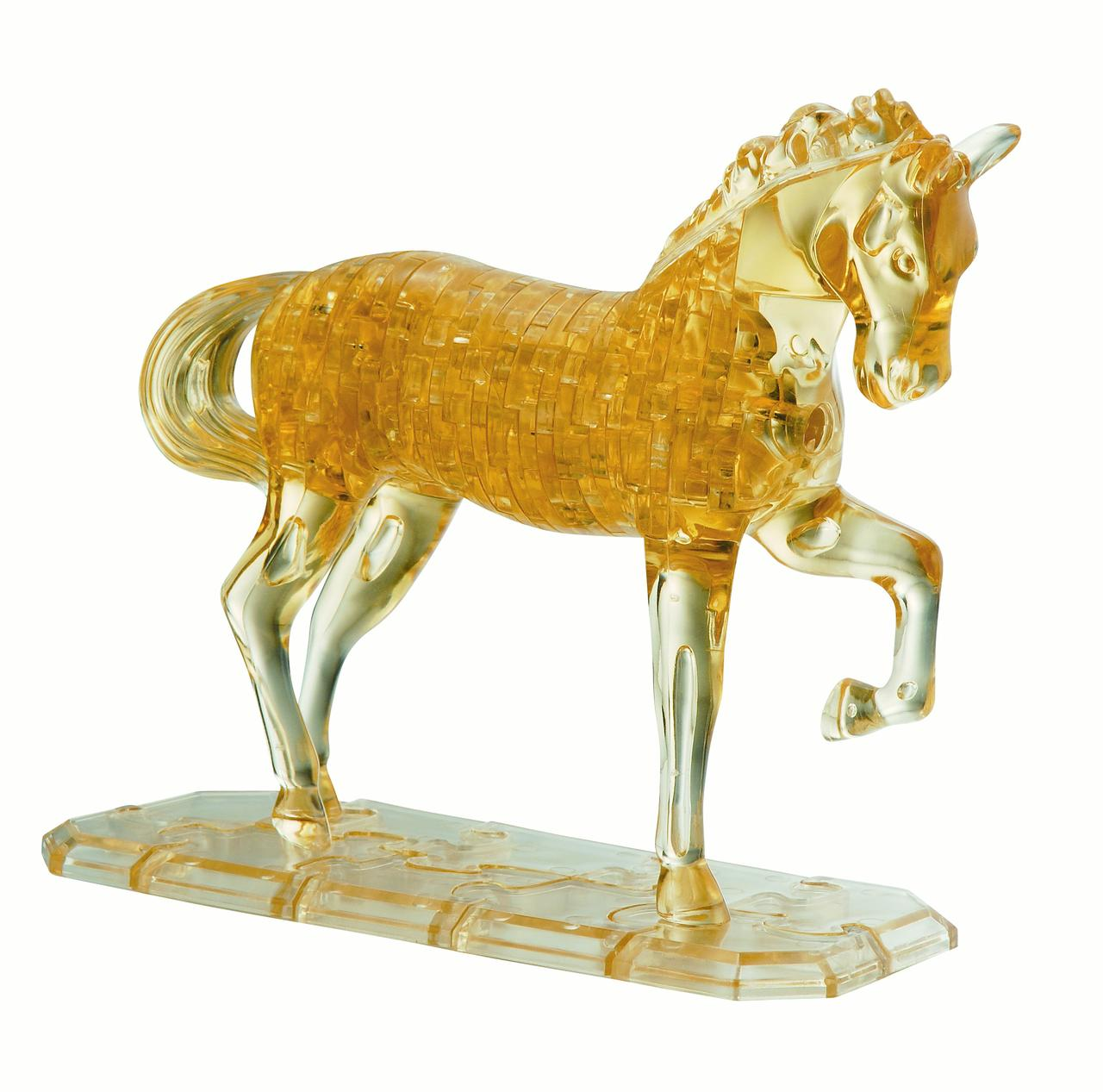 Deluxe 3D Crystal Puzzle Horse by University Games