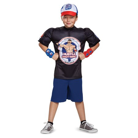 WWE John Cena Classic Muscle Child Costume - Halloween Items On Sale