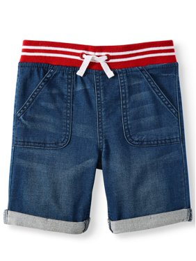 Wonder Nation Baby Boys Denim Shorts