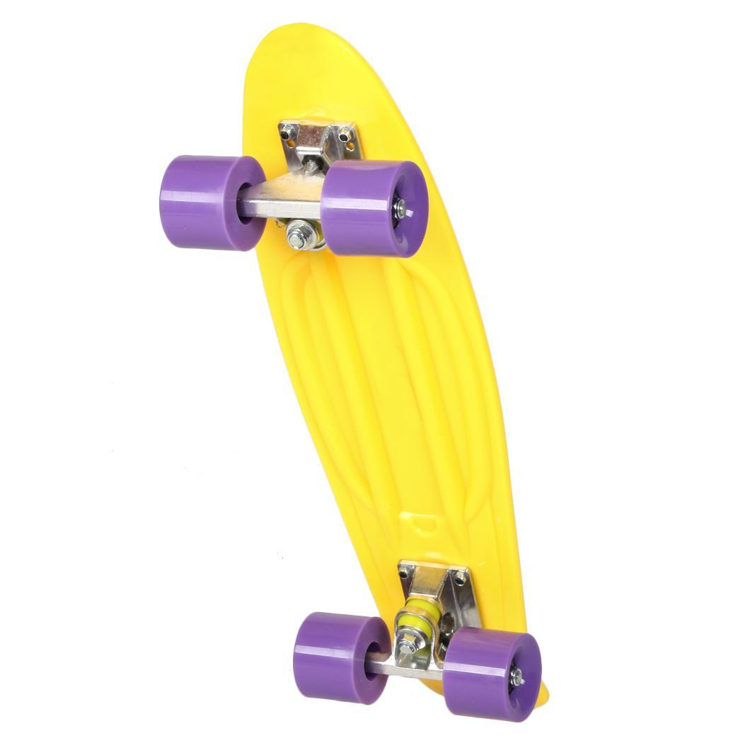 Christmas Clearance&Sale!! 22 Inch Portable Mini Cruiser Skateboard Longboard 12 Colors,PP by