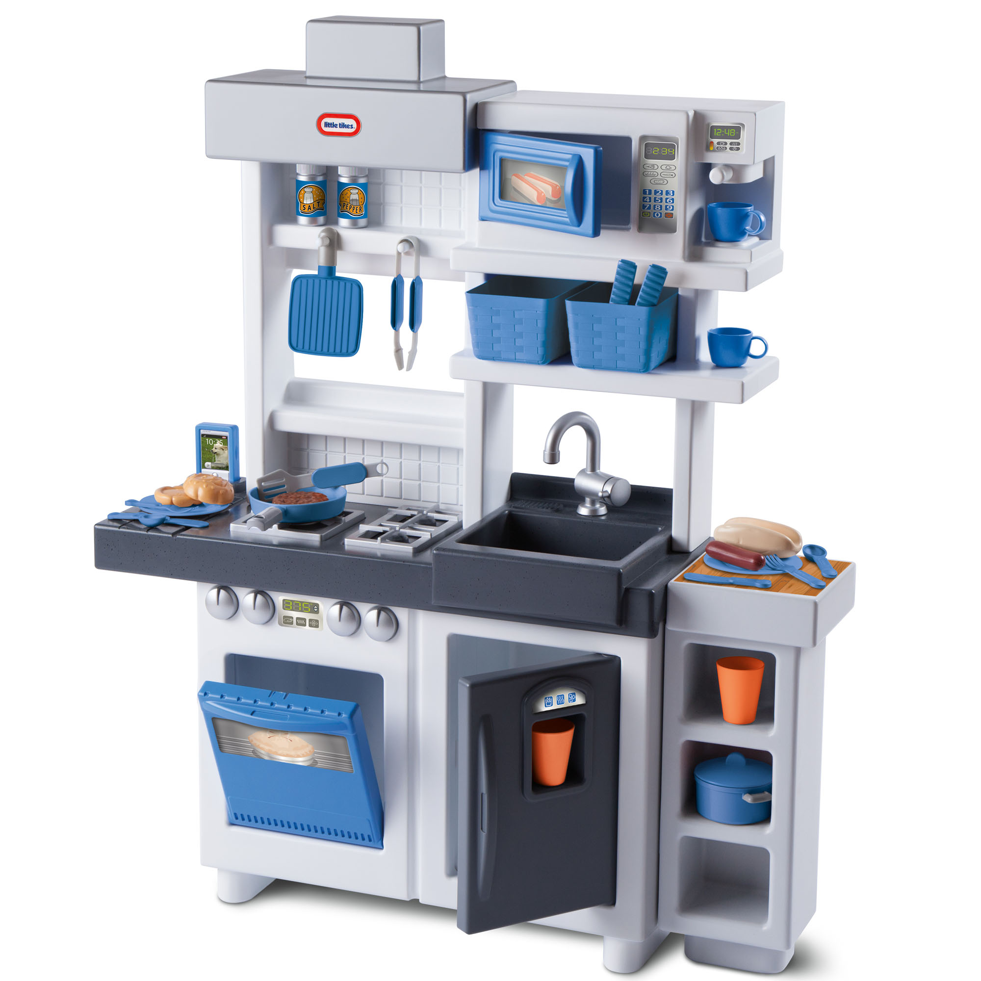 Little Tikes Ultimate Cook Play Kitchen With 30 Piece Accessory Play Set Walmart Com Walmart Com