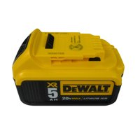 Dewalt DCB205 20V 5 Ah MAX Lithium Ion Battery Single Pack