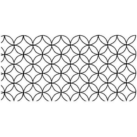 Overall Quilting Stencils : Sten Source Quilt Stencils-Overall C. L. Design 8X18 Multi-Colored - Walmart.com
