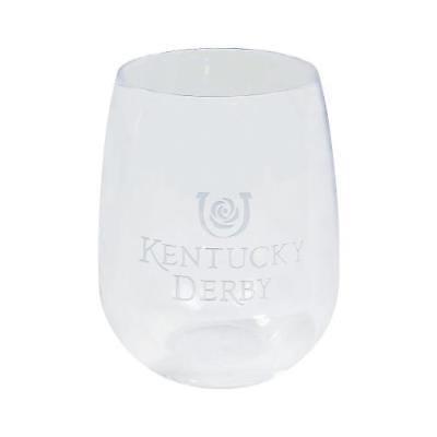IN-13777722 Kentucky Derby Stemless Wine Glass 1 - Kentucky Derby Glasses