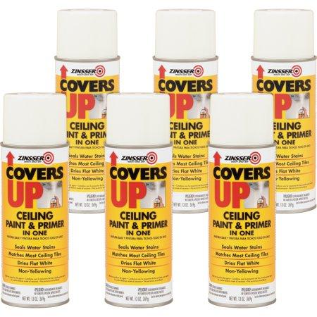 Ceiling Spray Paint - Rust-Oleum Ceiling Paint/Primer Vertical Spray 13 oz 6/CT WE 3688CT
