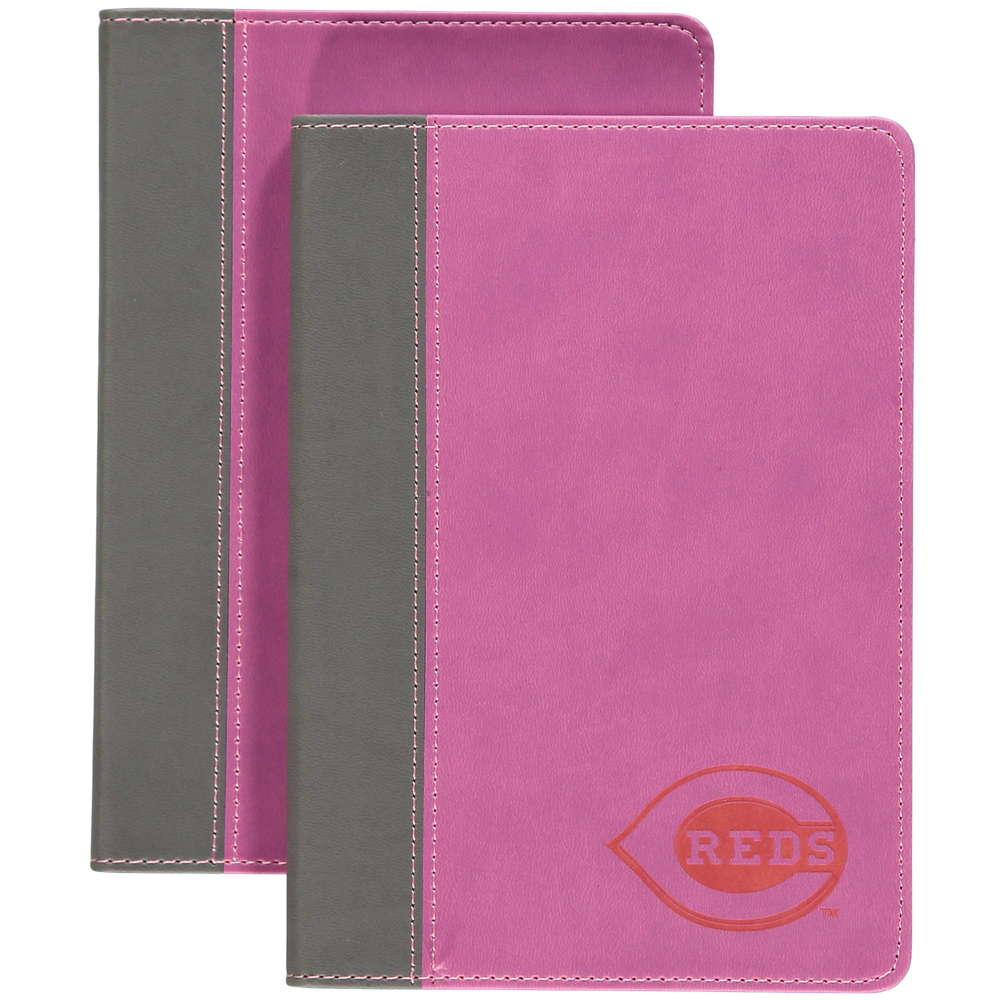 Pink Writing Journal - Cincinnati Reds Cincinnati Reds NDBBCINJP