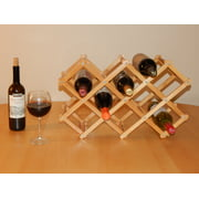 Timber Valley 8 Bottle Bamboo Tabletop Wine Rack by Mid America Home & Garden