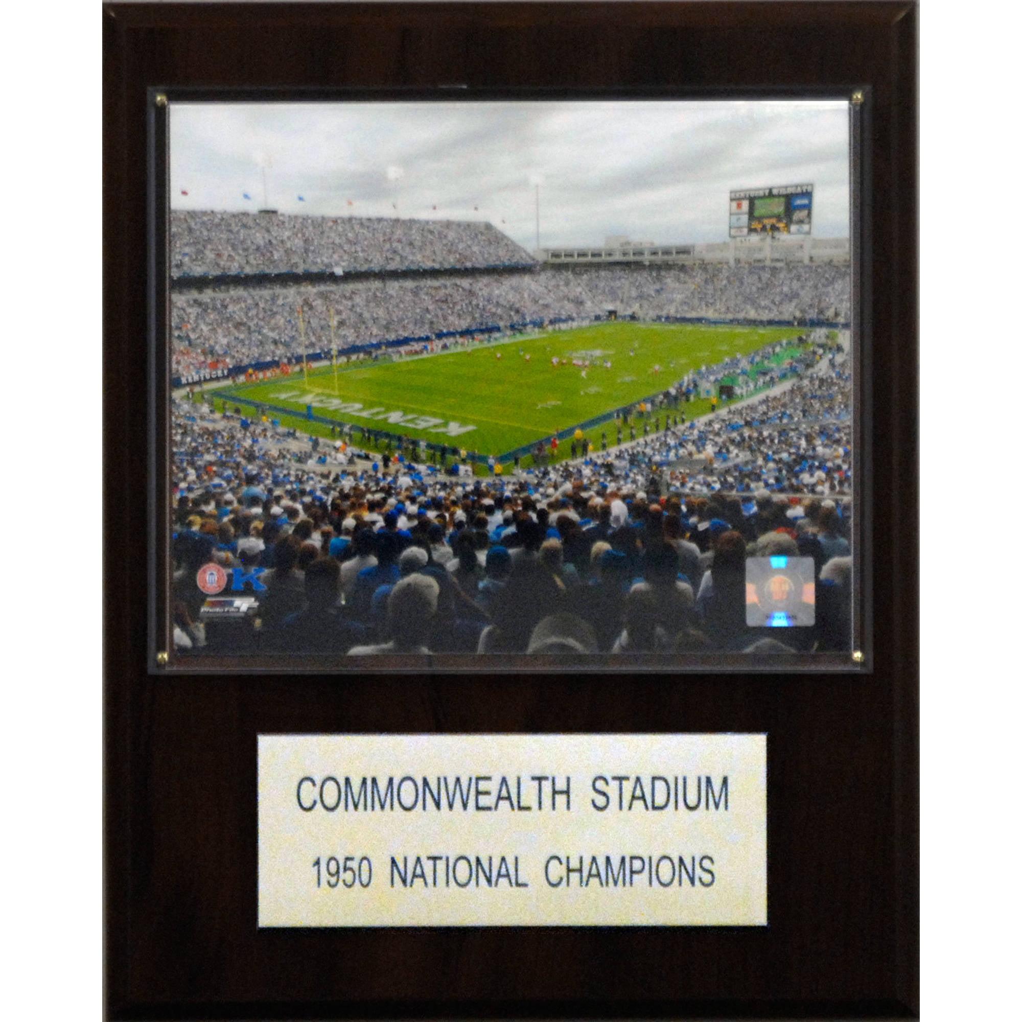 C&I Collectables NCAA Football 12x15 Commonwealth Stadium Stadium Plaque
