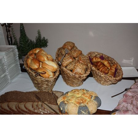 Canvas Print Buffet Roll Bread Breakfast Buffet Breakfast Stretched Canvas 10 x 14](Breakfast Buffet Ideas)
