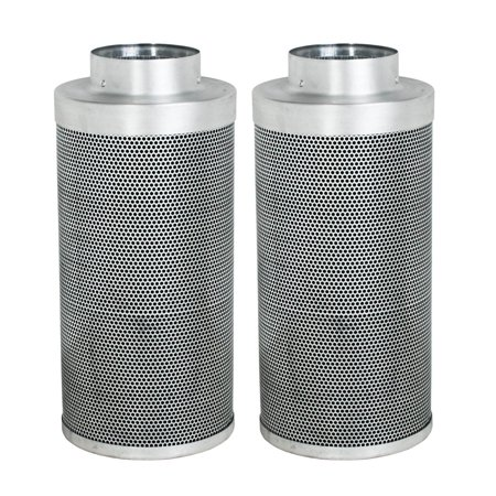 Phat Filter IGSPF246 500 CFM Greenhouse Professional Grade Carbon Air Purification Filter, 2 Pack