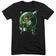 Green Lantern Galaxy Glow Mens Tri-Blend Short Sleeve Shirt