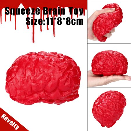 Novelty Stress Balls - Novelty Silicone Stress Ball Scary Organ Brain Squeeze Toy