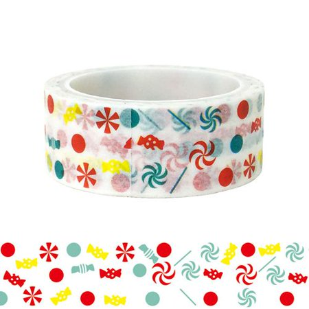 Gardeners Christmas Day Snowflake Candy Gift Packaging DIY Beautification and Paper Tape ()