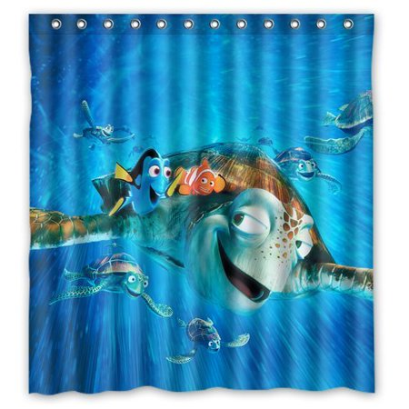 Ganma Finding Nemo Cute Sea Turtles Unique Shower Curtain Polyester Fabric Bathroom Shower Curtain 60x72 inches](Finding Nemo Baby Shower)