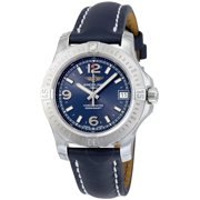 Breitling Colt 36 Blue Dial Ladies Watch A7438911-C913BLLT