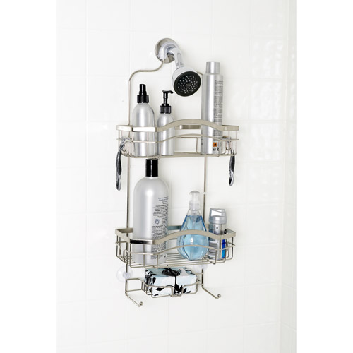 Zenna Home Premium Over-the-Shower Caddy, Stainless Steel