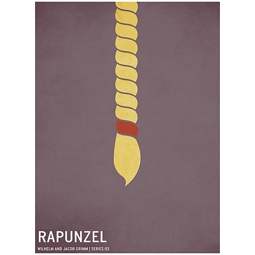 "Trademark Art ""Rapunzel"" Canvas Art by Christian Jackson"