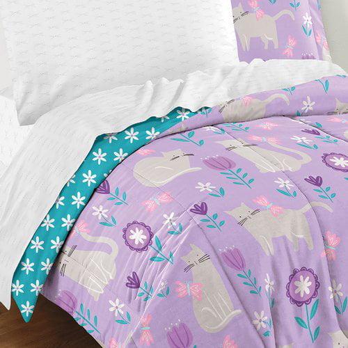 Zoomie Kids Lupe 5 Piece Reversible Comforter Set