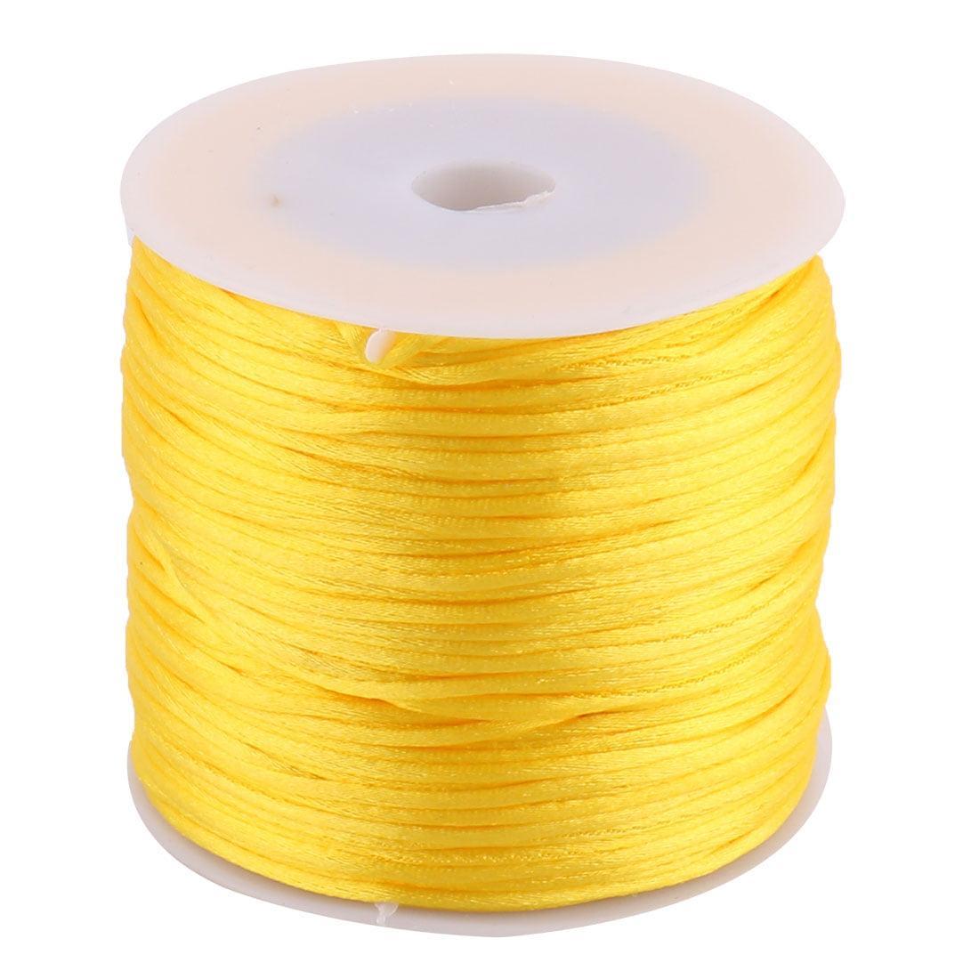Fait principal Tricot nylon DIY Bracelet Cordon Collier ornement Diamètre 1.5 mm 78.7 Yards - image 1 de 1