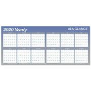 AT-A-GLANCE XL Horizontal Erasable Wall Calendar - Yearly Wall Calendars
