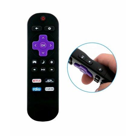 New Replace TV Remote Fit for Sharp Roku Ready TV LC-50LB371C LC-50LB481U LC-50LB371C LC-50LB371U