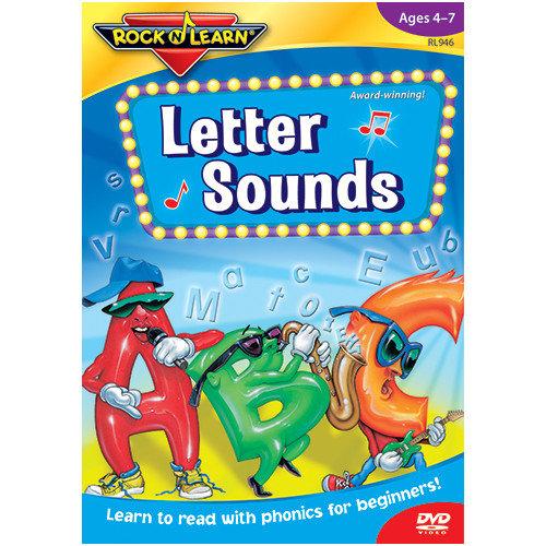 Rock N Learn Letter Sounds Dvd
