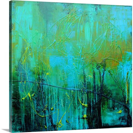 Great BIG Canvas | Erin Ashley Solid-Faced Canvas Print entitled Lost In A Tangle Of Vine