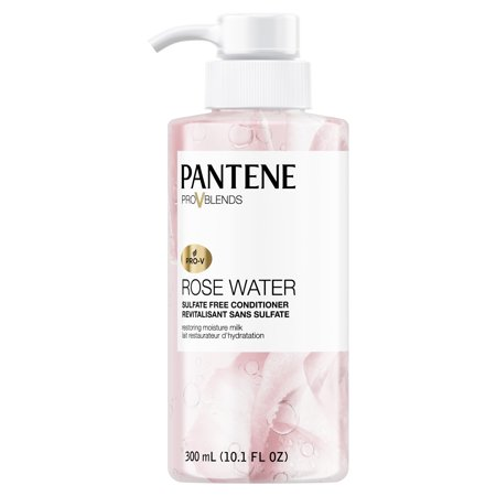 Soothing Balance Leave (Pantene Pro-V Blends Rose Water Sulfate-Free Soothing Conditioner, 10.1 fl oz )