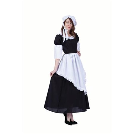 Pilgrim Lady Hattie Adult Costume - Large (Pilgrim Costume Adult)
