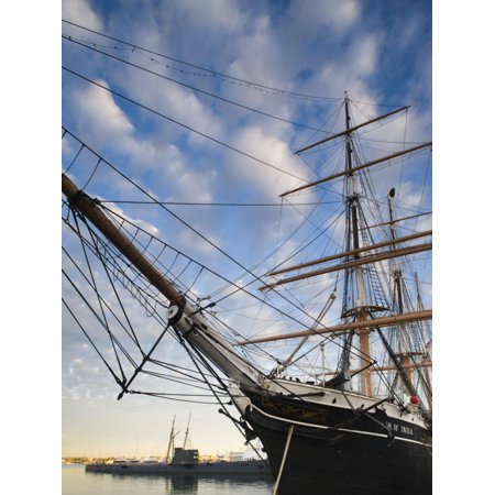 California, San Diego, San Diego Maritime Museum, Star of India and Russian Submarine, USA Print Wall Art By Walter (Used Panel Saw For Sale In India)